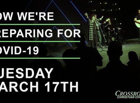 March 17th, 2020     Covid-19 Response