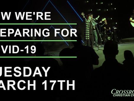 March 17th, 2020  |  Covid-19 Response