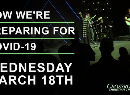 March 18th, 2020     Covid-19 Response