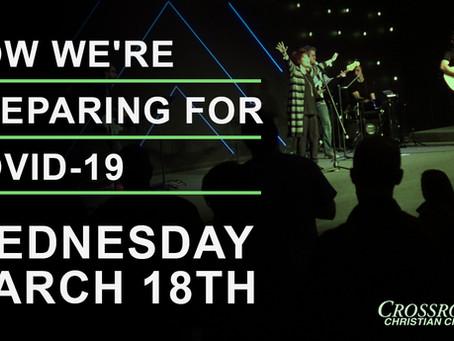 March 18th, 2020  |  Covid-19 Response