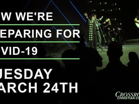 March 24th, 2020  |  Covid-19 Response