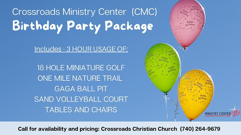 Crossroads Ministry Center (CMC) Birthda