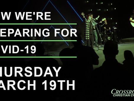 March 19th, 2020  |  Covid-19 Response