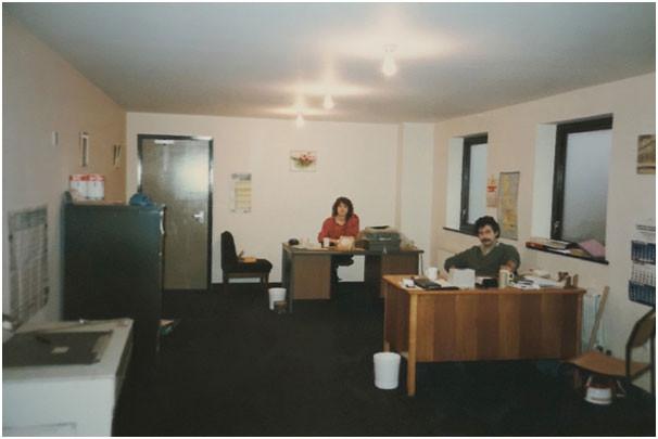 Cardboard tubes company 1987