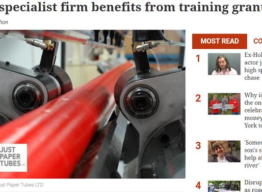 JPT Training Initiative in the Regional Press – Apprenticeship Update