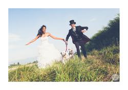 Mariage avec son chien
