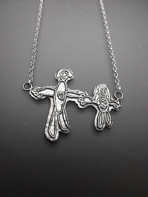 My&Me Pendant (Two Charms)