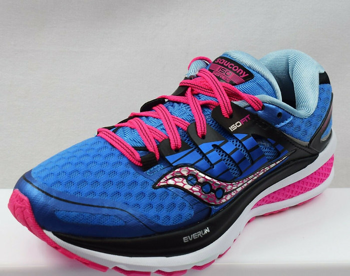 SAUCONY TRIUMPH ISO 2 LADIES RUNNING TRAINERS SIZE UK 4.5