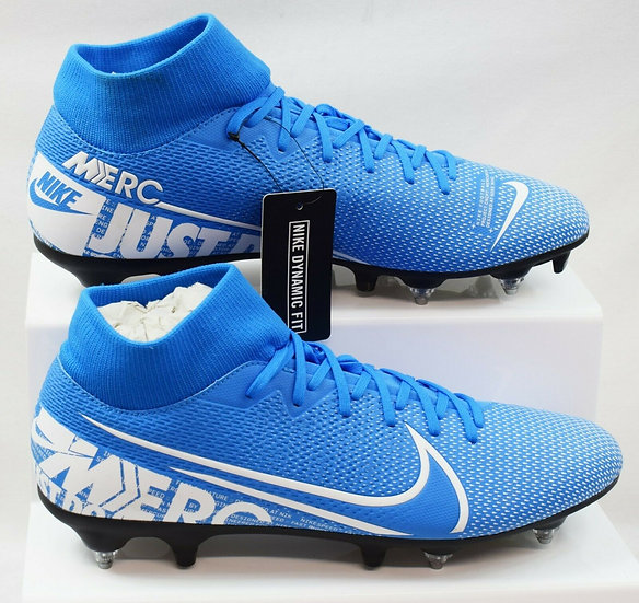 NIKE MERCURIAL SUPERFLY SG MEN'S FOOTBALL BOOTS SIZE UK 10