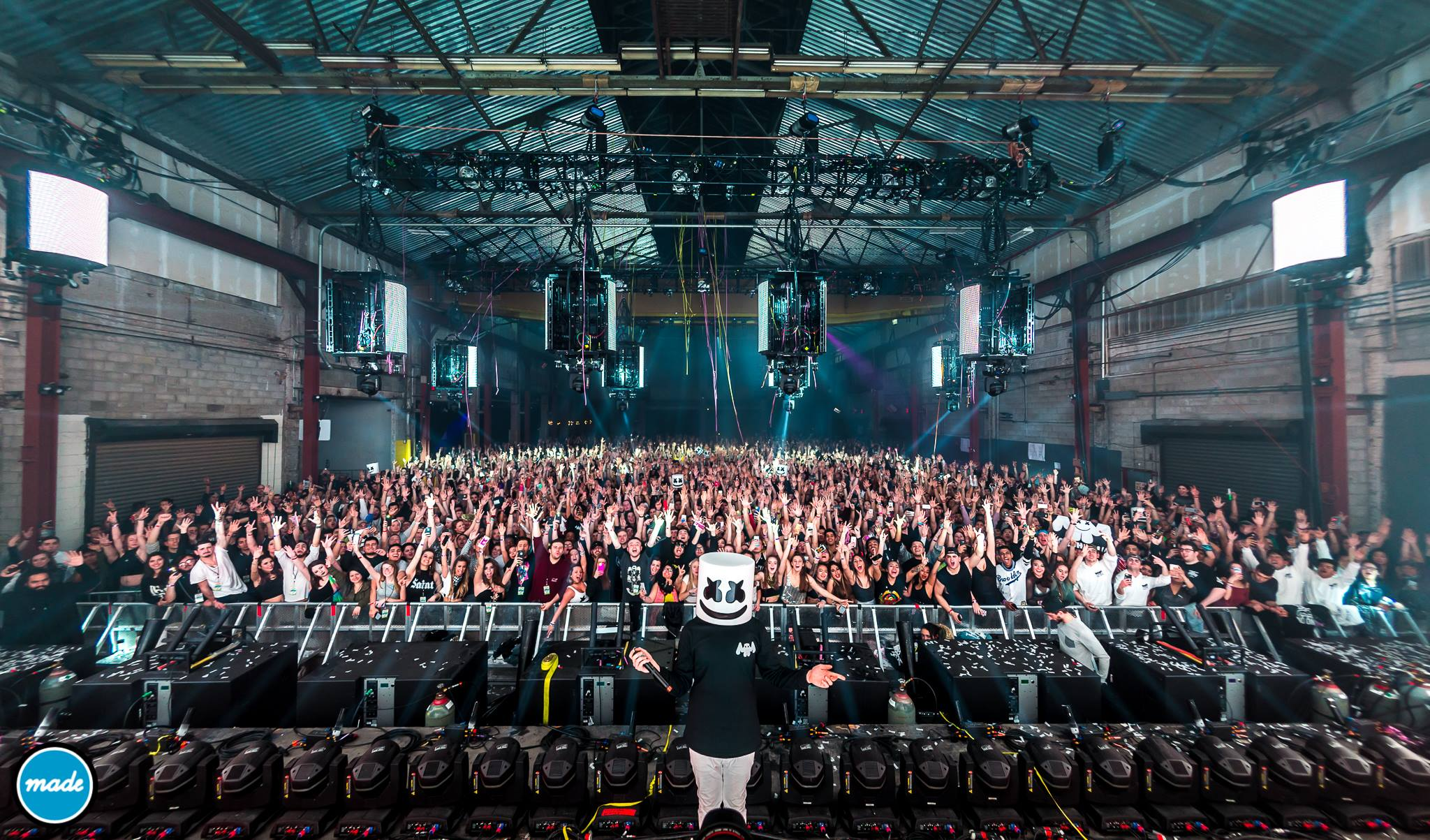Marshmello @ Sunset Park Warehouse