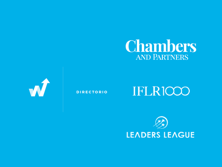 Chambers and Partners, IFLR 1000, Leaders League: Fechas de vencimiento