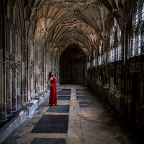 Red in the Cloisters