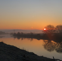Dawn Reflections. Second Place - Anne Cowdrey