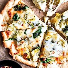 🌳 SPINACH & ARTICHOKE PIZZA