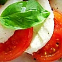Caprese Salad 1/2 Tray Serves Up To 7 People