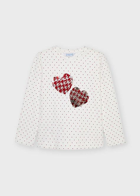 Tee shirt Coeur
