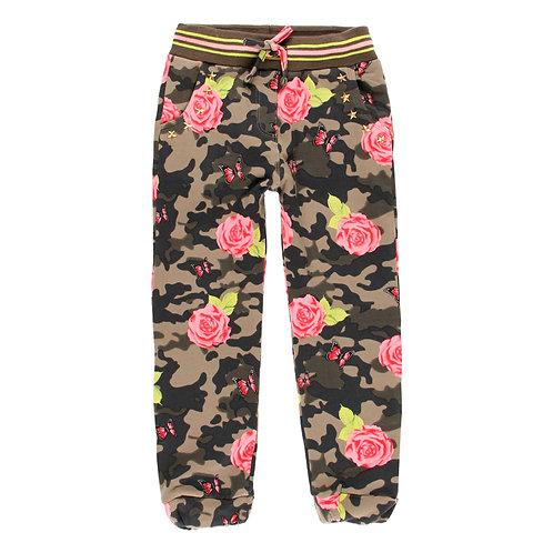 Pantalon fleuri