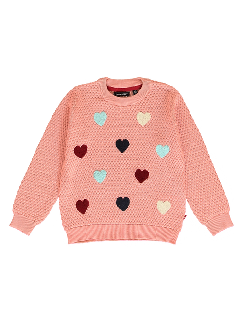 Pull Maille Saumon