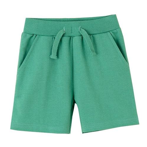 Short molleton Vert