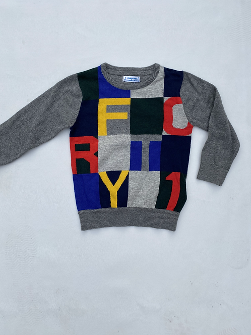 Pull lettres Mayoral