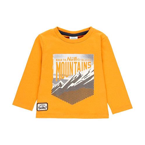 Tee shirt jaune Mountains