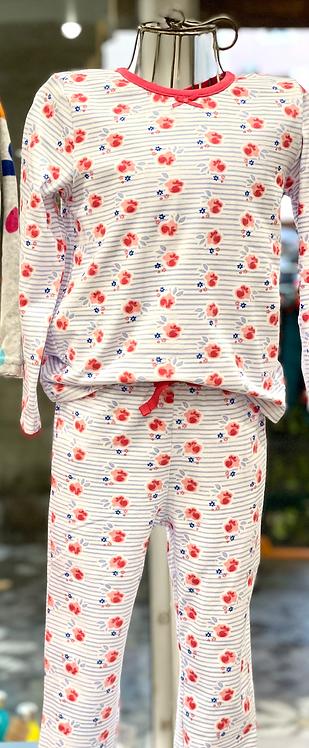 Pyjama Fleurs