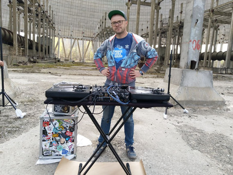 DJ-set in Chernobyl: making of