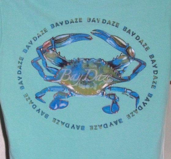 Blue Crab Ladies V-Neck Tee