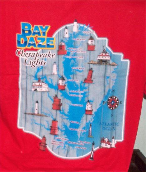 Men's Chesapeake Lights Crew Neck Tee