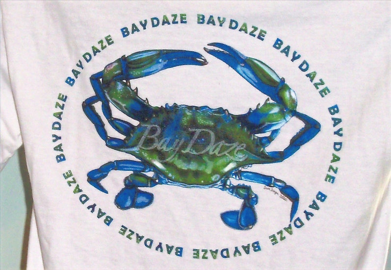 Men's Blue Crab Tee