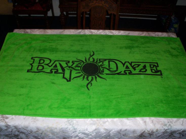 Bay Daze Beach Towel