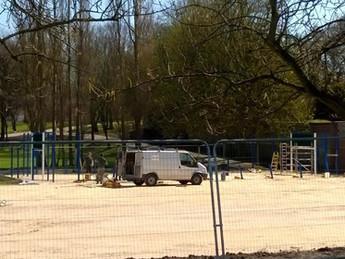 Speedy progress at Locke Park, Barnsley