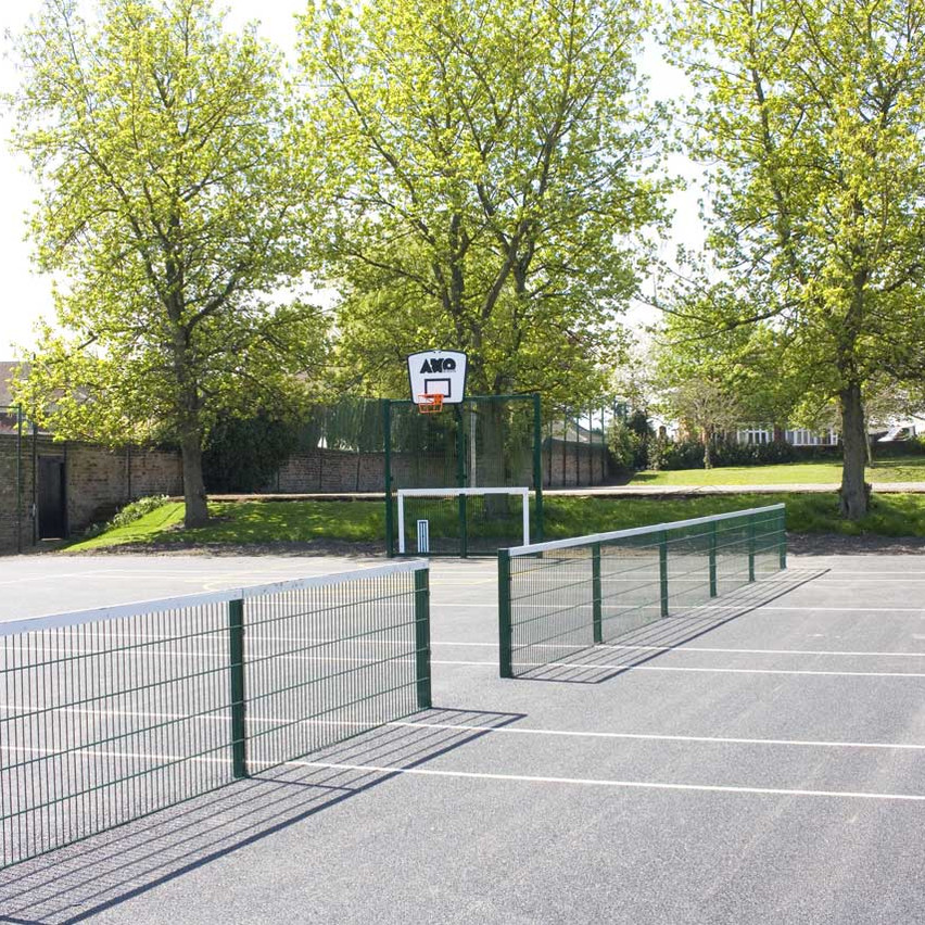 Tennis courts & kick walls
