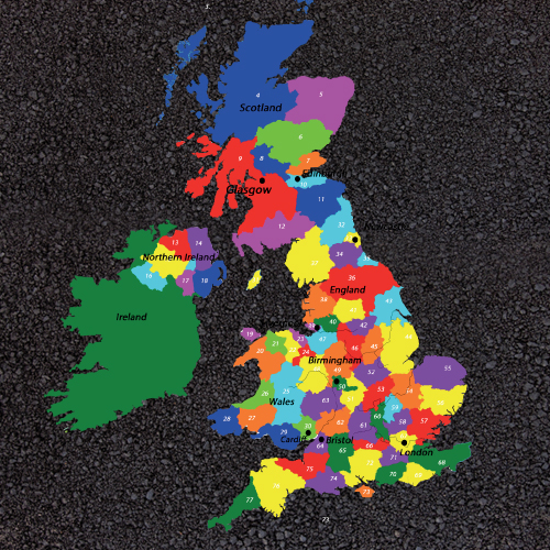 pm 5006 key stage 2 uk counties map