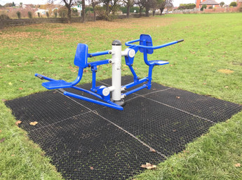 New Goals & Outdoor gym for Barnsley Park