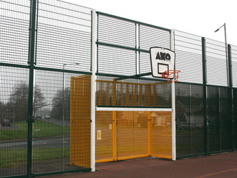 Huge MUGA standing proud in Newport