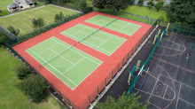 Triple Tennis Court