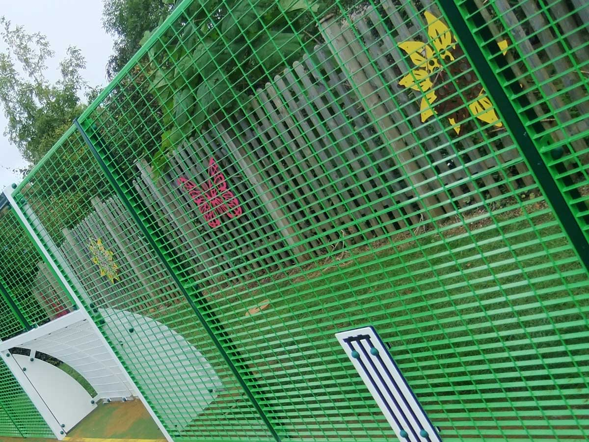 School court fencing