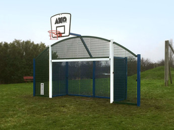 Multi-use goal end installed in Barnsley