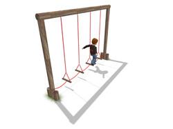 Swinging steps