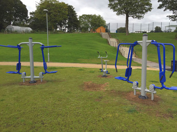 New outdoor gym for Salford School