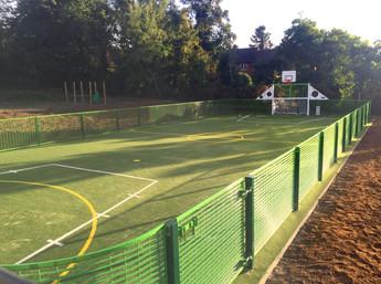 School MUGA transforms playground