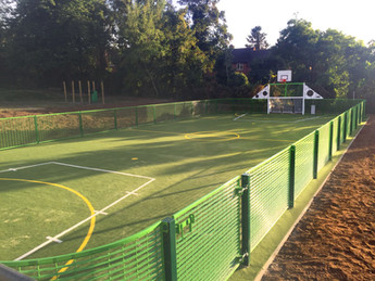 School MUGA transforms playground