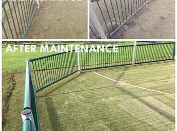 Artificial grass maintenance plans.