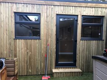 Outdoor nursery office / garden room
