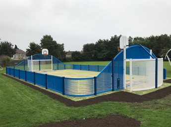 Curvy MUGA for Coventry School