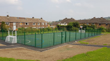 Full build MUGA with Polymeric surface