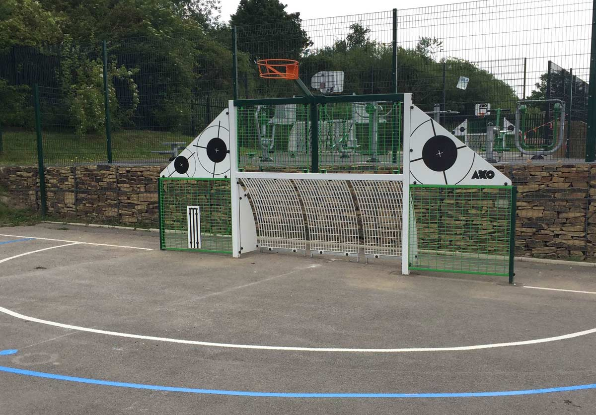 Netball mini goal