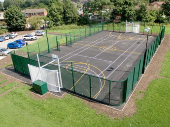 Bollington T.C open new AXO Leisure MUGA.