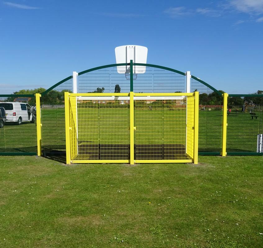 Dunston Goal End